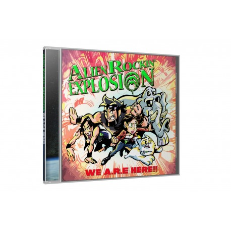 ALIEN ROCKIN' EXPLOSION – Pack 1 'We A.R.E Here'