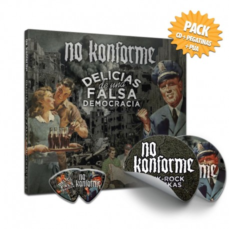 NO KONFORME – Pack1 'Delicias de una falsa democracia'